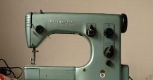 Spinning a Yarn: Husqvarna Automatic  Viking 21A Sewing