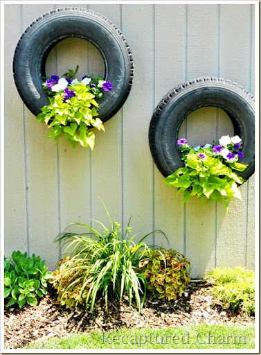 Reusing Old Tires / Tyres (from bikes, cars, trucks…) | ecogreenlove