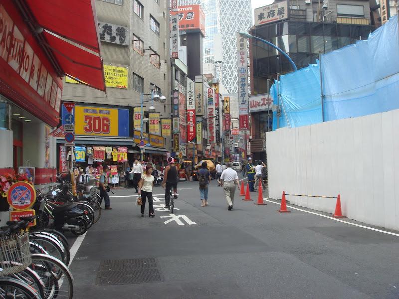Shinjuku, area dei negozi