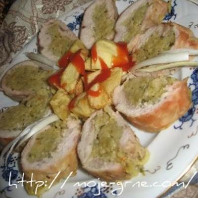 Grne-Rolovana piletina sa kupusom