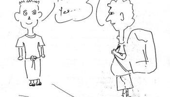 Myanmar way of saying yes