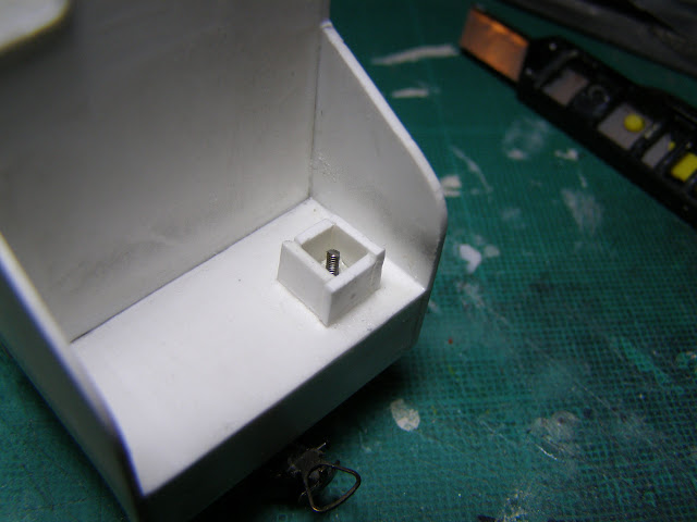 Box around screw