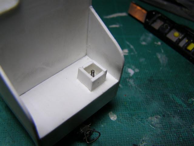 Box around screw