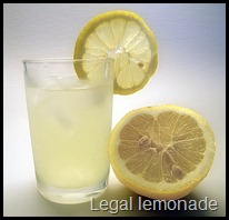 A legal lemonade