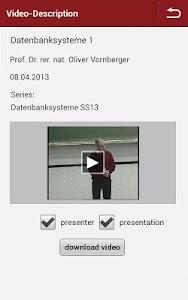 Opencast Matterhorn 2GO screenshot 3