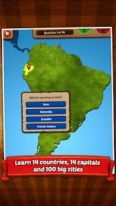GeoFlight South America screenshot 1
