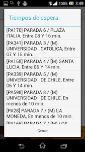 Radar Transantiago screenshot 3