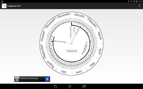 Pregnancy Calculator (Wheel) screenshot 0