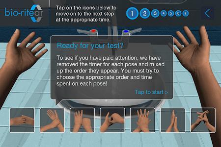 Hand Hygiene Training screenshot 1