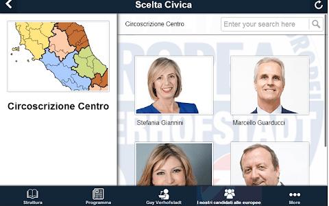 Scelta Civica screenshot 2