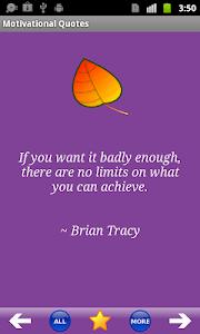 Motivational Quotes screenshot 1