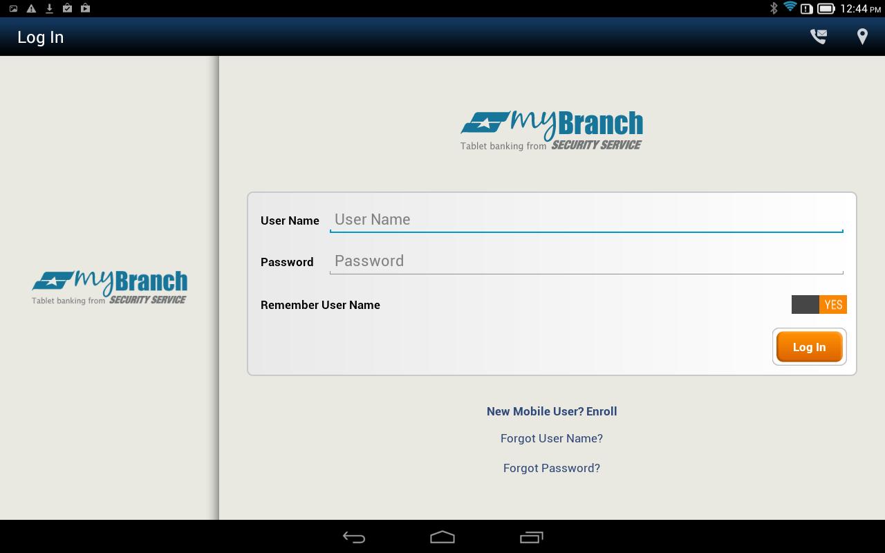 Security Bank Online Enrollment