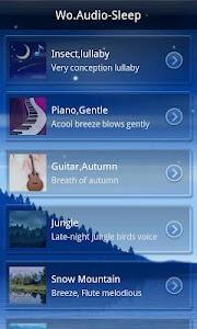 Wo.Audio-Sleep screenshot 3