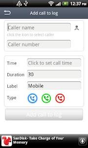 Call Log Master screenshot 1