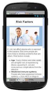 E Coli Disease & Symptoms screenshot 4