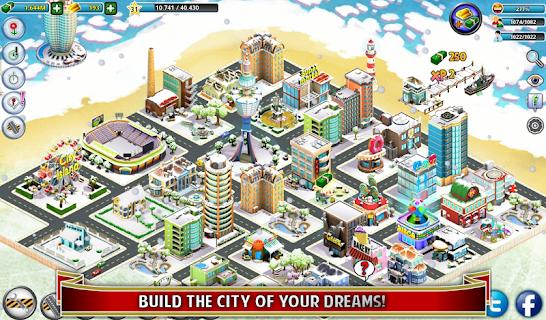 City Island: Winter Edition screenshot 08