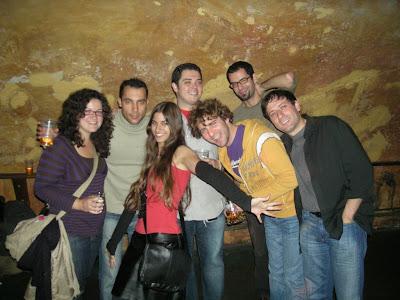 Julia, Alberto, Maria, el menda, Job, Gabriel y Alberto
