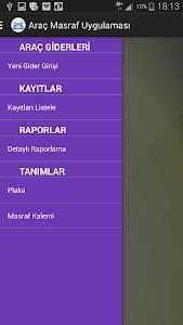 Araç Masraf Takip screenshot 3