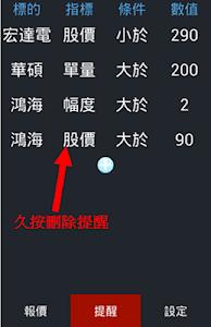 股票報馬仔 - 語音報價,台股,股市,股東會,三大法人 screenshot 5
