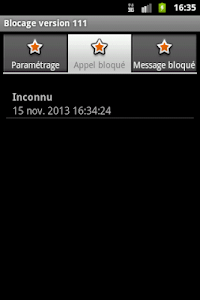 Blocage SMS et Appel screenshot 4