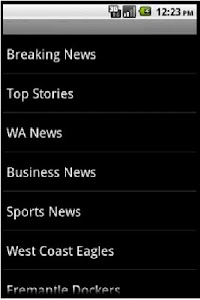 Perth News screenshot 0