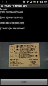 SD-TOOLKIT® Barcode SDK screenshot 3