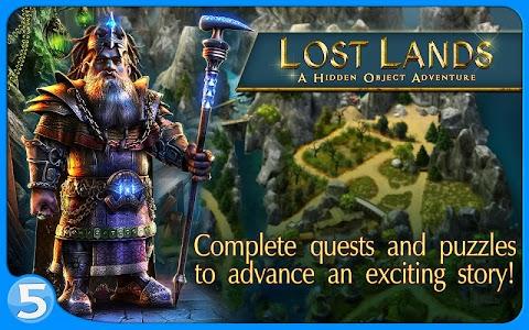 Lost Lands: Hidden Object screenshot 1