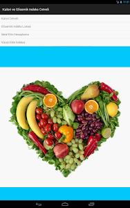 Kalori-Glisemik İndeks Cetveli screenshot 3