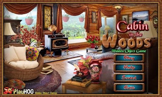 Cabin in Woods - Hidden Object screenshot 01