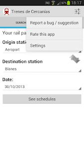 Spain Commuter Trains screenshot 3