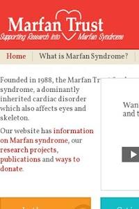 The Marfan Forum screenshot 4