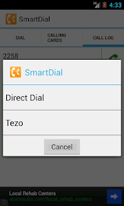 SmartDial screenshot 2