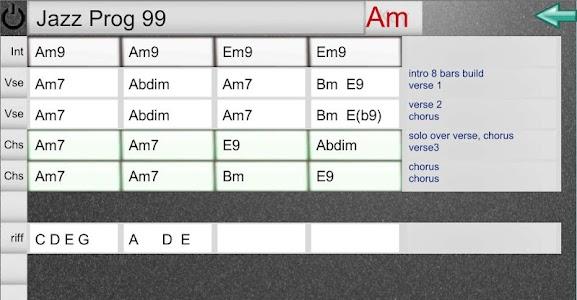 EZ Chord Chart screenshot 0