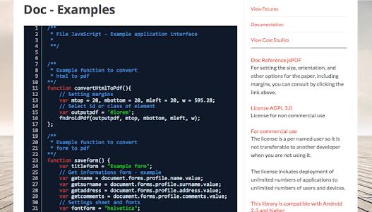 PDF SDK for Hybrid Apps screenshot 11