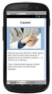 Dyslexia Disease & Symptoms screenshot 3