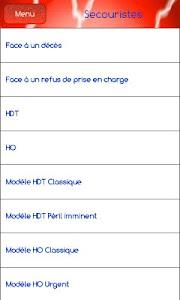 Urgences Psychologiques screenshot 1