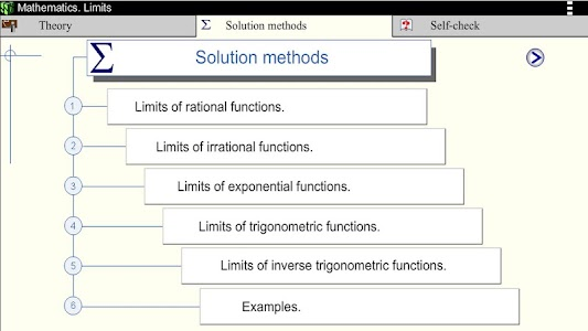 Math.Limits screenshot 2