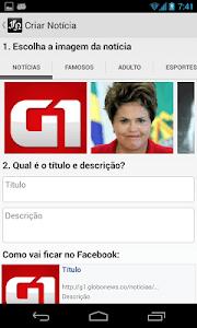 Falsas Notícias screenshot 2