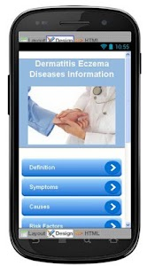 Dermatitis Eczema Information screenshot 0
