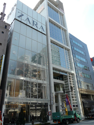 Zara en Ginza, Tokyo