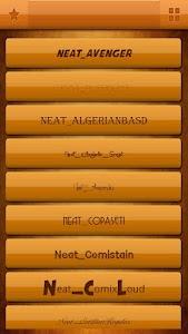 Neat Font Style Free screenshot 1