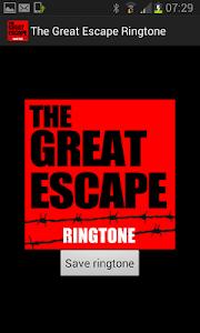 The Great Escape Ringtone screenshot 0