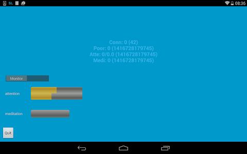 EEG Screenlock screenshot 1
