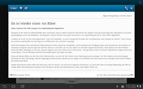 Allgäuer Zeitung screenshot 5