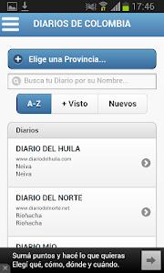 Diarios de Colombia screenshot 1