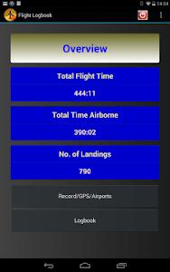 Flight Logbook screenshot 0