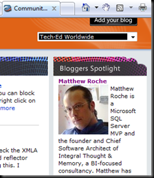 TechEd Bloggers Excerpt