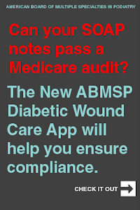 ABMSP Diabetic Wound Care App screenshot 1