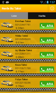 Nerde Bu Taksi screenshot 0