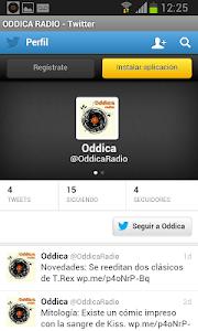 Oddica Radio screenshot 2